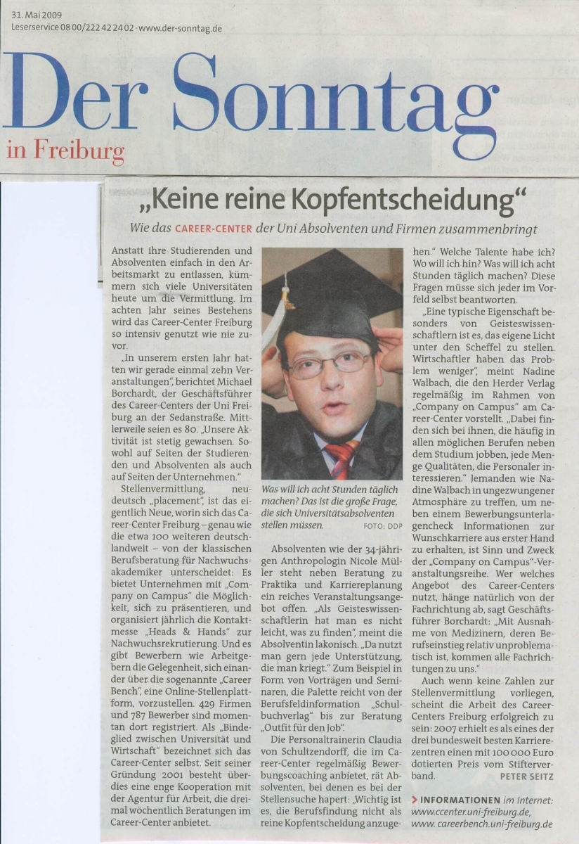 Der Sonntag 31.05.2009_Career Center.jpg